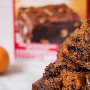 Receta saludable: brownie de calabaza y algarroba