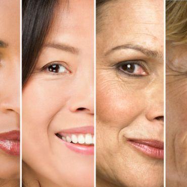Envejecimiento facial