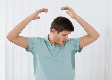 Exceso de sudoración: hiperhidrosis.