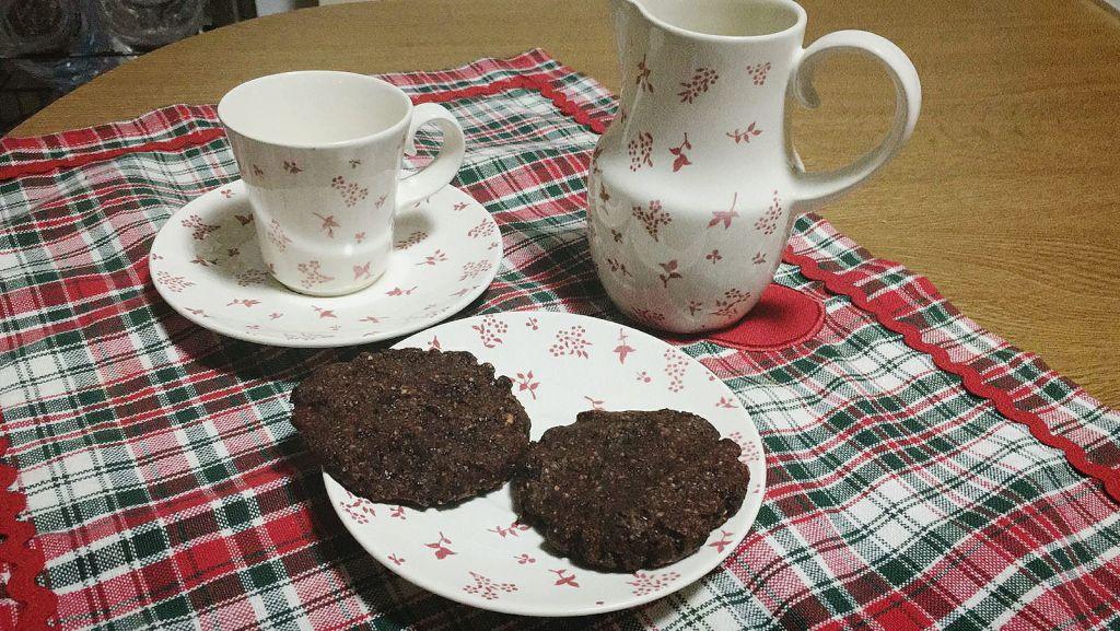 galletas de avellanas y cacao