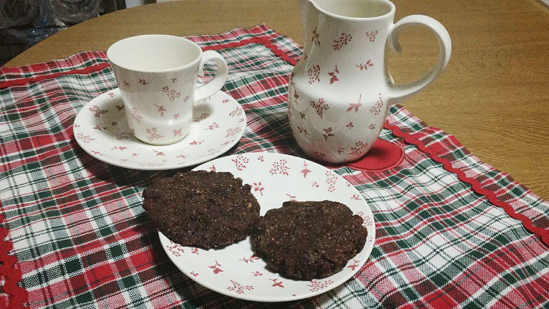 Galletas de avellanas y chocolate